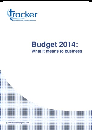 Industry Report - Budget 2014: What it means to business