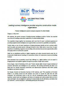 BiP Solutions Pro-Mark Media construction Press Release