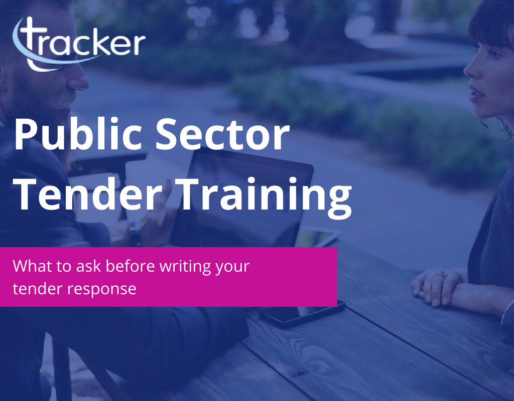 Public sector tender training: bid writing